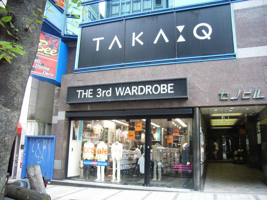 Taka-Q Shinjuku store